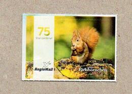 BRD - Privatpost -  RegioMail - Eurasisches Eichhörnchen (Sciurus Vulgaris) - Privados & Locales