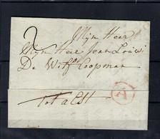 VOORLOPER (met Inhoud) 1786 Naar Alst Ung - 1714-1794 (Austrian Netherlands)