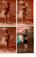 4 Baigneuses (bathing Beauties) - Pin-Ups