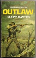 A Bandolero Western - Outlaw   By Matt Davies /1958 - Other