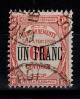 Taxe YV 63 Oblitere - 1859-1955 Afgestempeld