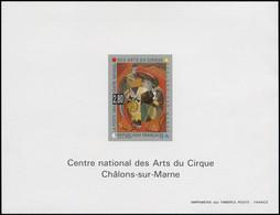 FRANCE Blocs Spéciaux ** - 2833, Centre National Des Arts Du Cirque - Cote: 150 - Altri