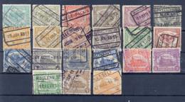 Nrs. TR58/TR78 Gestempeld 66 Côte - 1915-1921