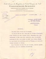 18401  12-1249   1922  ETS KUHLMANN A NEVERS - M. MIGNOT A AUXERRE - 1900 – 1949