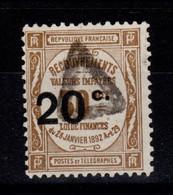 Taxe YV 49 Cote 4,50 Euros - 1859-1955 Afgestempeld
