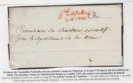 1 Précurseur Du Juillet 1796 (l'an 4). Regardez Les Scans Tout Est Indiqué - 1701-1800: Precursors XVIII