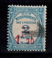 Taxe YV 64 Oblitere Cote 16 Euros - 1859-1955 Afgestempeld