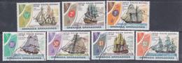 Grenadines N° 157 / 63 X, O  Bicent. Indépendance Des Etats-Unis,  Les 7 Valeurs  Trace De Charnière Ou Oblitérées, TB - America (Other)