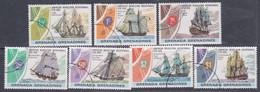 Grenadines N° 157 / 63  O  Bicentenaire De L' Indépendance Des Etats-Unis,  Les 7 Valeurs  Oblitérées, TB - America (Other)