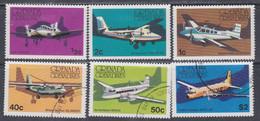 Grenadines N° 164 / 69  X, O  Avions,  Les 6 Valeurs Trace De Charnière Ou Oblitérées, TB - America (Other)