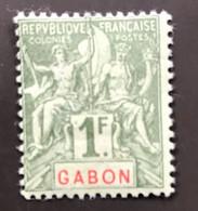 GABON 1904 - NEUF*/MH - YT 30 - LUXE - CV 45 EUR - Unused Stamps