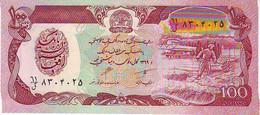 AFGHANISTAN - 100 Afghanis  - NEUF - Vie Paysane - Agriculture - Afghanistan