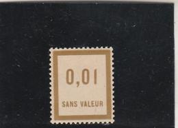 Yvert  F 23 ** Neuf Sans Charnière - Fictifs