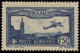 FRANCE Poste Aérienne * - 6a, Outremer, Charnière Infime: 1.50f. Marseille - Cote: 70 - 1927-1959 Nuevos