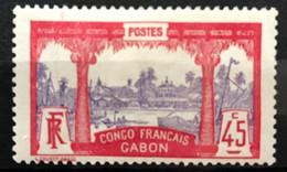 GABON 1910 - NEUF*/MH - YT 43 - LUXE - RARE - CV 55 EUR - Unused Stamps