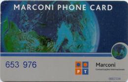 PORTUGAL MARCONI PHONE CARD 1 - Portugal