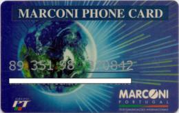 PORTUGAL MARCONI PHONE CARD 3 - Portugal