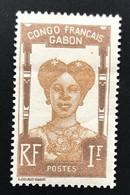 GABON 1910 - NEUF*/MH - YT 46 - RARE - CV 120 EUR - Lire Description - Unused Stamps