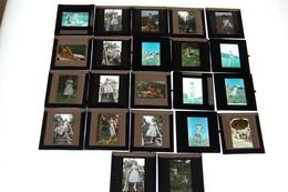 Lot De Dias Debut Annee 60 Pin Ups - Diapositives (slides)