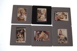 Lot De Dias Debut Annee 70 Dessins Erotiques Pin Ups - Diapositives (slides)