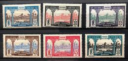 GABON 1910 - NEUF*/MH - Série 56 / 61 - Lire Description - Unused Stamps