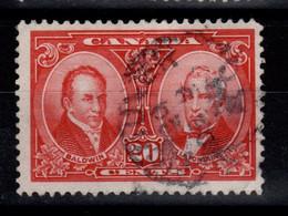Canada - YV 128 Oblitere , Baldwin & Lafontaine , Cote 11 Euros - Usados