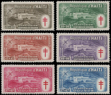 HAITI Poste Aérienne * - 47/52, Sanatorium Contre Le Paludisme - Cote: 160 - Haiti