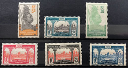 GABON 1922 - NEUF*/MH - Série Complète YT 82 / 87 - CV 10 EUR - Unused Stamps