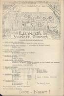 Guerre 39 45 ILAG Camp D'internement Civils étrangers Grande Caserne St Saint Denis Photo + Programme Concert Variété - WW II