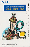 Télécarte JAPON / 110-011 - Cinema - DETECTIVE SHERLOCK HOLMES - JAPAN Movie Phonecard - Kino Telefonkarte - 17256 - Cinema