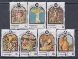 Grenadines N° 198 / 204 X, O  Pâques Les 7 Valeurs Trace De Charnière Ou Oblitérées, TB - America (Other)