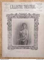 Rare REVUE  - 1897 L'ILLUSTRÉ THEATRAL N° 10 - Mlle YAHNE - LE POMPIER DE SERVICE - Tijdschriften - Voor 1900