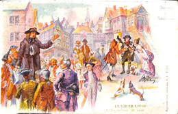 Le Vieux Liège - Chanteur De Complaintes (expo 1905 + Talon Illustr. Carolus Leclerq) - Liège