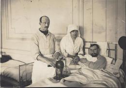 Guerre 14 18 Hôpital Auxiliaire N°30 Trouville Sur Mer Calvados Infirmière En Chef Colette Cardon Soldat Poilu 1915 - War, Military