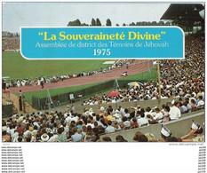 CP Témoins De JEHOVAH : Assemblée De District 1975  La Souveraineté Divine - Ohne Zuordnung