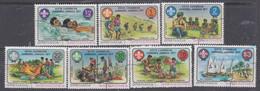 Grenadines N° 215 / 21 O  6è Jamboree Des Caraïbes,  Les 7 Valeurs Oblitérées, TB - America (Other)