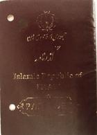 Iran Passport Issued In Budapest 2007. Nice Consular Example - Documentos Históricos
