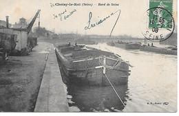 A/153          94     Choisy Le Roi      Bords De Seine - Les Péniches - Choisy Le Roi