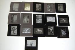 Lot De Diapositives Erotique Annee 60 A 70 Ile Du Levant - Diapositives (slides)