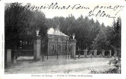 Environs De Chimay - Entrée Du Château De Beauchamp (1907 Edit. Ve Ernult-Bebrun) - Chimay