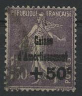 CAISSE D'AMORTISSEMENT 4ème Série N° 268 COTE 80 €. Oblitérés. TB - Usados