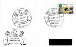 SPAIN. POSTMARK CARNIVAL OF VERIN. 2021 - Marcofilia - EMA ( Maquina De Huellas A Franquear)