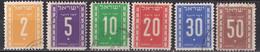 Israel - Portomarken Mi.Nr. 6 - 11 - Gestempelt Used - Impuestos