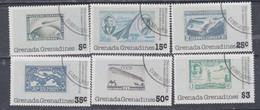 Grenadines N° 234 / 39  O 50è Anniv. Traversée Atlantique Nord Lindbergh, Les 6 Valeurs Oblitérées, TB - America (Other)