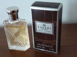 Ralph LAUREN** SAFARI For Men** EdT** 11ml ** Pleine - Miniaturen Flesjes Heer (met Doos)