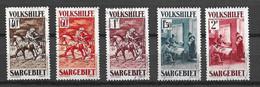 Sarre YT N° 148/152 Oblitérés. B/TB. A Saisir! - Used Stamps