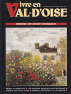 Vivre En Val D'Oise N°4  Novembre 1990 Patrimoine Art Histoire Environnement Argenteuil Omerville En Vexin Port 500 G - Non Classificati