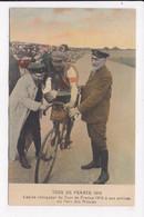CP CYCLISME Tour De France 1910 Lapize Vainqueur à Son Arrivée Au Parc Des Princes - Ciclismo