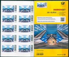 BRD - Mi 3607 Gestanzt 10x = FB 106 ✶✶ # - 95C  U-Bahn-Haltestelle Überseequartier,  Ausg.: 06.05.2021 - Unused Stamps