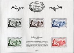 FRANCE 2016 - SALON DU TIMBRE -TRÉSORS DE LA PHILATÉLIE MNH ** CAHORS LE PONT VALENTRÉ (Luxe) - Ongebruikt